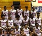 Old Mill Patriots Boys Varsity Basketball Winter 17-18 team photo.