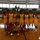 Coffeeville Pirates Boys Varsity Basketball Winter 17-18 team photo.