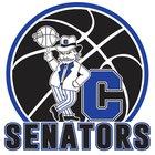 Carson Senators Boys Varsity Basketball Winter 17-18 team photo.