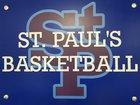 St. Paul's Episcopal Saints Boys Varsity Basketball Winter 17-18 team photo.
