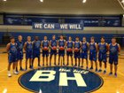 Barbers Hill Eagles Boys Varsity Basketball Winter 17-18 team photo.
