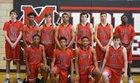Middle Creek Mustangs Boys Varsity Basketball Winter 17-18 team photo.