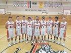 Asotin Panthers Boys Varsity Basketball Winter 17-18 team photo.