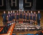 Davis Pirates Boys Varsity Basketball Winter 17-18 team photo.