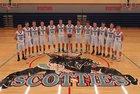 Freeman Scotties Boys Varsity Basketball Winter 17-18 team photo.