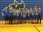 Basic Wolves Boys Varsity Basketball Winter 17-18 team photo.