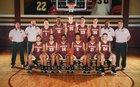 Riverdale Warriors Boys Varsity Basketball Winter 17-18 team photo.