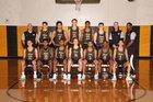 Metea Valley Mustangs Boys Varsity Basketball Winter 17-18 team photo.