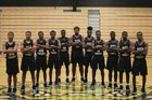 North Forest Bulldogs Boys Varsity Basketball Winter 17-18 team photo.