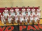 Great Bend Panthers Boys Varsity Basketball Winter 17-18 team photo.