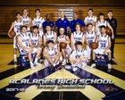 Acalanes Dons Boys Varsity Basketball Winter 17-18 team photo.