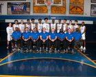 Shadow Mountain Matadors Boys Varsity Basketball Winter 17-18 team photo.