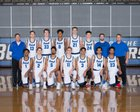 Bothell Cougars Boys Varsity Basketball Winter 17-18 team photo.