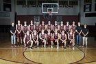 Lone Peak Knights Boys Varsity Basketball Winter 17-18 team photo.