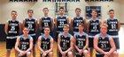 Lynden Christian Lyncs Boys Varsity Basketball Winter 17-18 team photo.