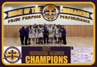 Archbishop Riordan Crusaders Boys Varsity Basketball Winter 17-18 team photo.