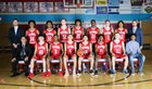 Monterey Plainsmen Boys Varsity Basketball Winter 17-18 team photo.