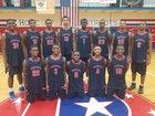 Parkview Patriots Boys Varsity Basketball Winter 17-18 team photo.