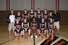 Flanagan-Cornell Falcons Boys Varsity Basketball Winter 17-18 team photo.