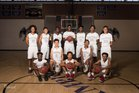 Cesar Chavez Champions Boys Varsity Basketball Winter 17-18 team photo.