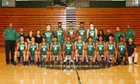 Grayson Rams Boys Varsity Basketball Winter 17-18 team photo.