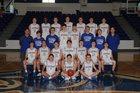 Greenbrier Panthers Boys Varsity Basketball Winter 17-18 team photo.