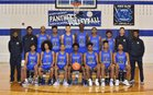 North Crowley Panthers Boys Varsity Basketball Winter 17-18 team photo.
