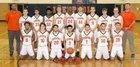 Liverpool Warriors Boys Varsity Basketball Winter 17-18 team photo.