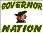 Nelson County Governors Boys Varsity Basketball Winter 17-18 team photo.