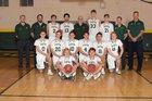 Mountain Vista Golden Eagles Boys Varsity Basketball Winter 17-18 team photo.