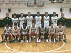 Saint Stephen's Episcopal Falcons Boys Varsity Basketball Winter 17-18 team photo.