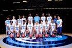 Meadowcreek Mustangs Boys Varsity Basketball Winter 17-18 team photo.