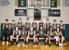 Mountain Brook Spartans Boys Varsity Basketball Winter 17-18 team photo.