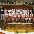 Brandon Eagles Boys Varsity Basketball Winter 17-18 team photo.
