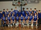 Parkers Chapel Trojans Boys Varsity Basketball Winter 17-18 team photo.