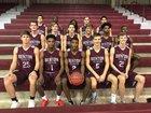 Benton Panthers Boys Varsity Basketball Winter 17-18 team photo.