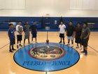 Walatowa Charter Cougars Boys Varsity Basketball Winter 17-18 team photo.