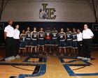 Little Elm Lobos Boys Varsity Basketball Winter 17-18 team photo.