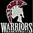 West Campus Warriors Boys Varsity Basketball Winter 17-18 team photo.