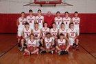Deer Antlers Boys Varsity Basketball Winter 17-18 team photo.