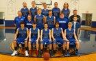 St. Paul Saints Boys Varsity Basketball Winter 17-18 team photo.