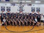 Buffalo Island Central Mustangs Boys Varsity Basketball Winter 17-18 team photo.