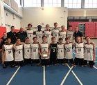 Sachem North  Boys Varsity Volleyball Fall 18-19 team photo.