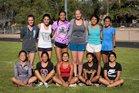 Hope Christian Huskies Girls Varsity Cross Country Fall 18-19 team photo.