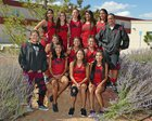 Grants Pirates Girls Varsity Cross Country Fall 18-19 team photo.
