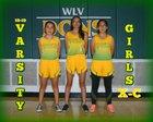 West Las Vegas Dons Girls Varsity Cross Country Fall 18-19 team photo.
