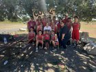 Cobre Indians Girls Varsity Cross Country Fall 18-19 team photo.