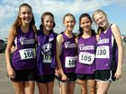 Gateway Christian Warriors Girls Varsity Cross Country Fall 18-19 team photo.