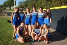 Cottonwood Classical Prep Coyotes Girls Varsity Cross Country Fall 18-19 team photo.