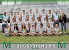Moriarty Pintos Girls Varsity Cross Country Fall 18-19 team photo.